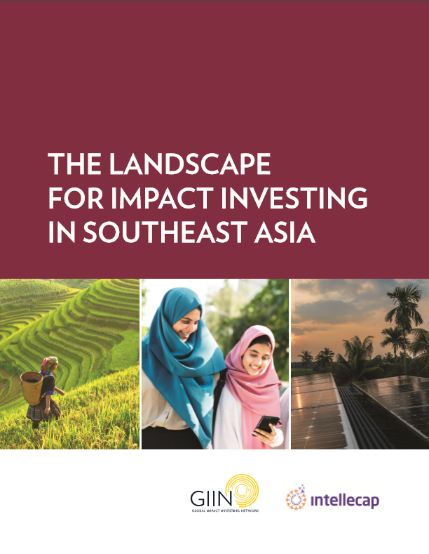 The landscape for impact investing in Southeast Asia