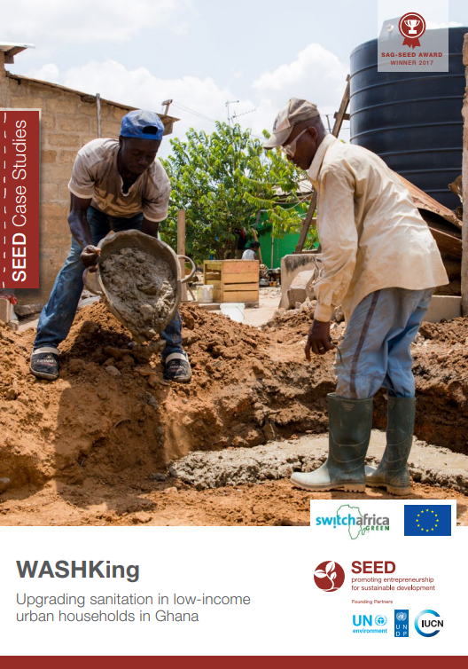 WASHKing. Upgrading sanitation in low-income urban households in Ghana. SEED Case Study Series.