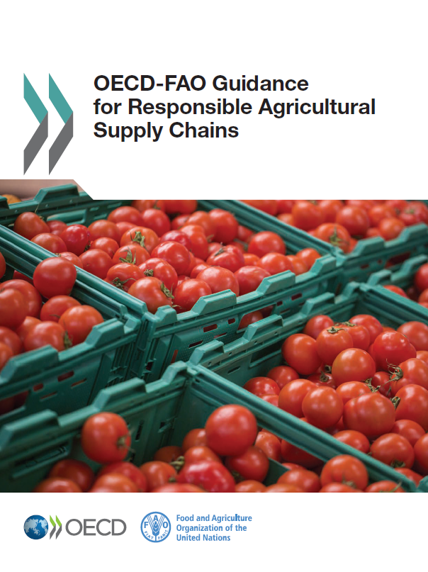 OECD-FAO Guidance for Responsible Agricultural Supply Chains Cover