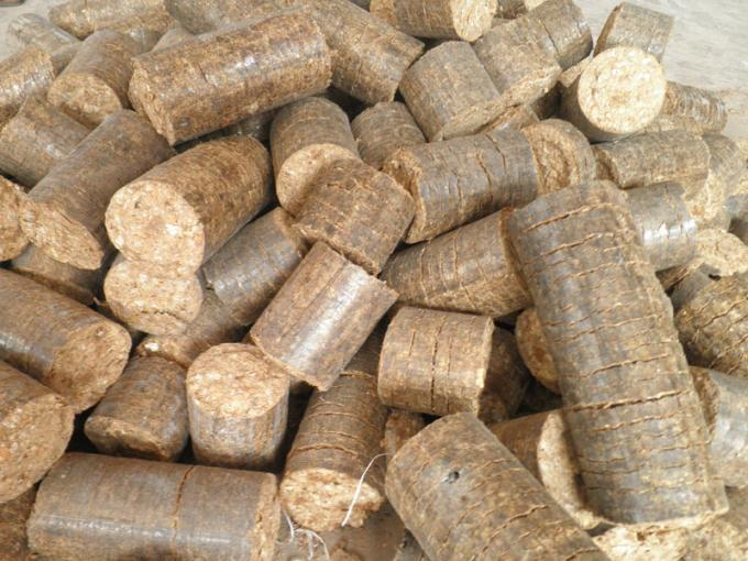 Biomass briquettes can replace firewood. Photo by Gulhantr/Wikimedia Commons