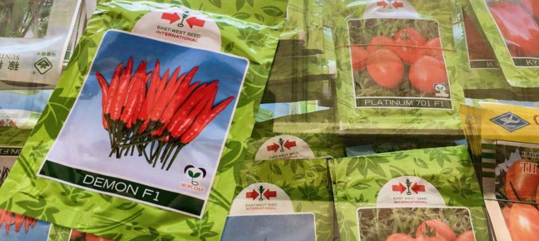 Copyright: East–West Seed, Myanmar, a company that develops, produces and markets hybrid tropical vegetable seeds
