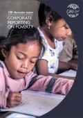 Global Reporting Initiative discussion paper: Corporate reporting on poverty