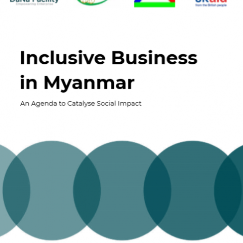 Inclusive Business in Myanmar