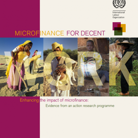 Microfinance for Decent Work – Enhancing the impact of microfinance: Evidence from an action research programme