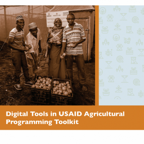 Digital tools in USAID agricultural programming toolkit