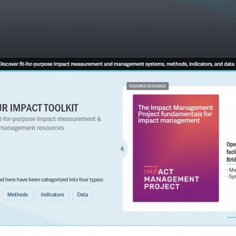 The Impact Toolkit