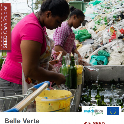 Belle Verte, Creating sustainable communities  in Mauritius through a closed-loop waste management system. SEED Case Study Series.