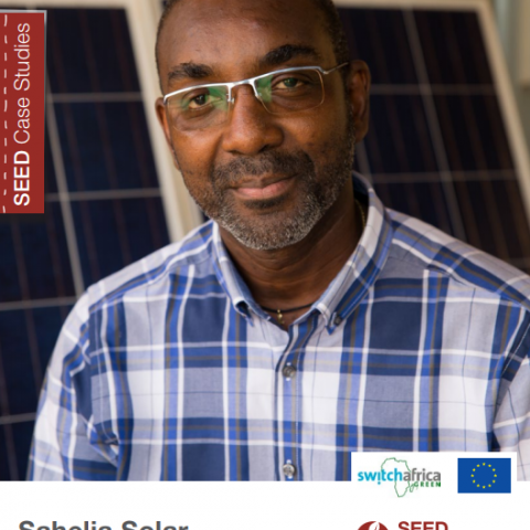 Sahelia Solar. Increasing clean and affordable energy access in rural areas in Burkina Faso. SEED Case Study Series.