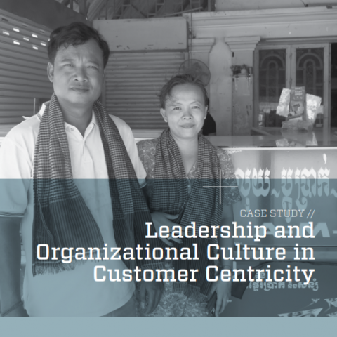 Leadership and organizational culture in customer centricity
