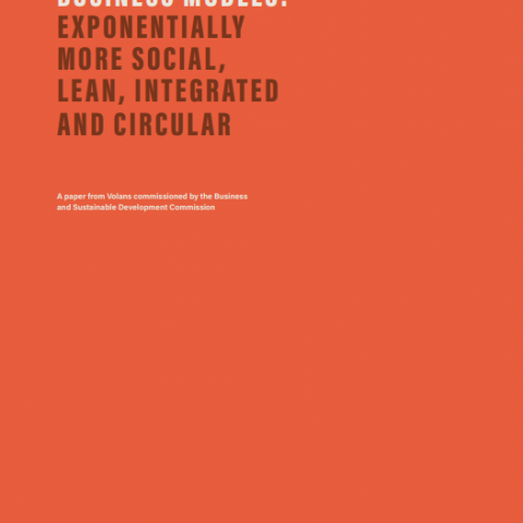 Breakthrough business models: Exponentially more social, lean, integrated and circular