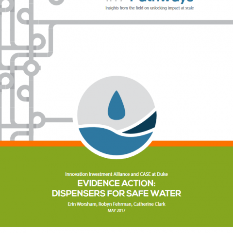 Scaling Pathway: Evidence Action: Dispensers for Safe Water