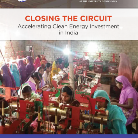 Accelerating clean energy investment  in India