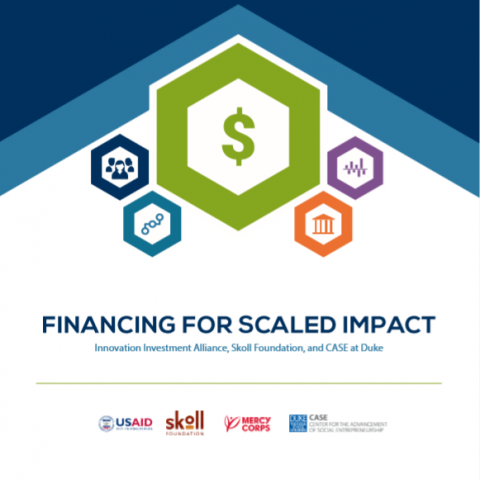 Financing for scaled impact
