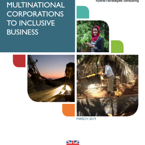 multinational corporations in inclusive business