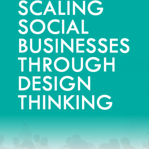 Scaling social business through design thinking