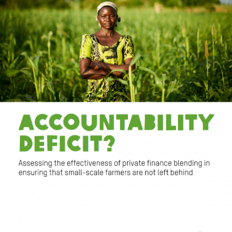 Accountability deficit Oxfam International Cover