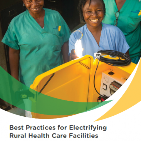 Best Practices for Electrifying Rural Health Care Facilities